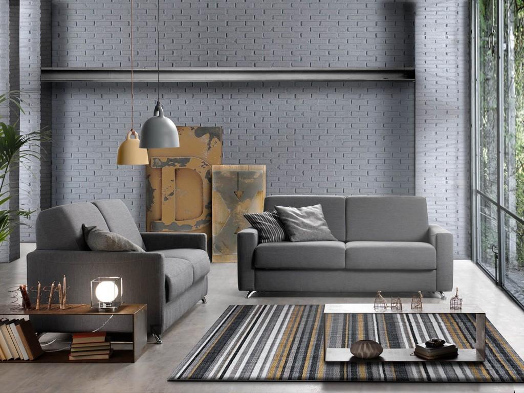 Vendita divani-letto modello DIVANO LETTO AMALFI chiusa