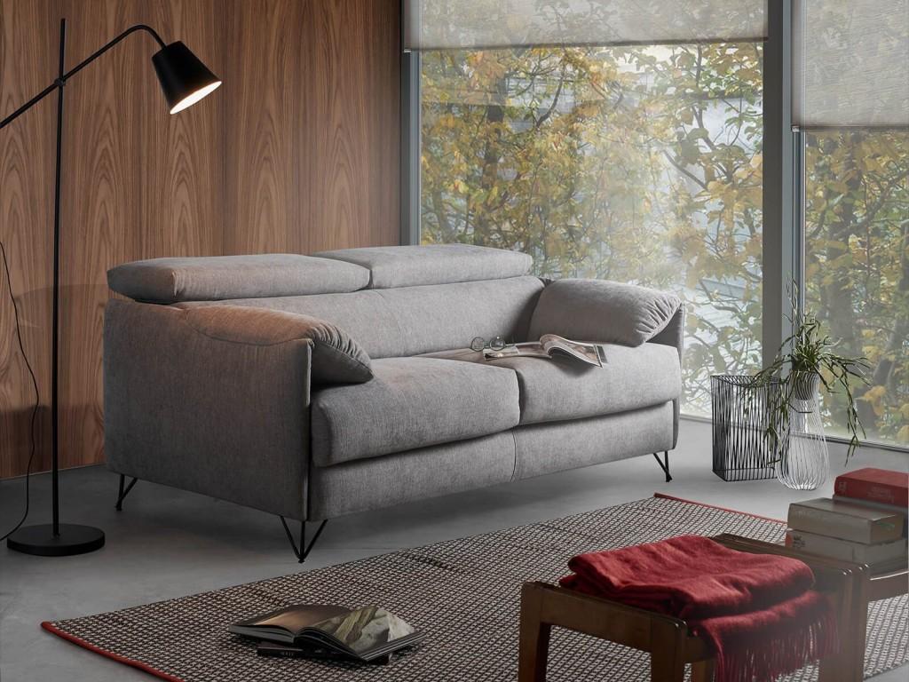 Vendita divani-letto modello DIVANO LETTO  VERONA aperta