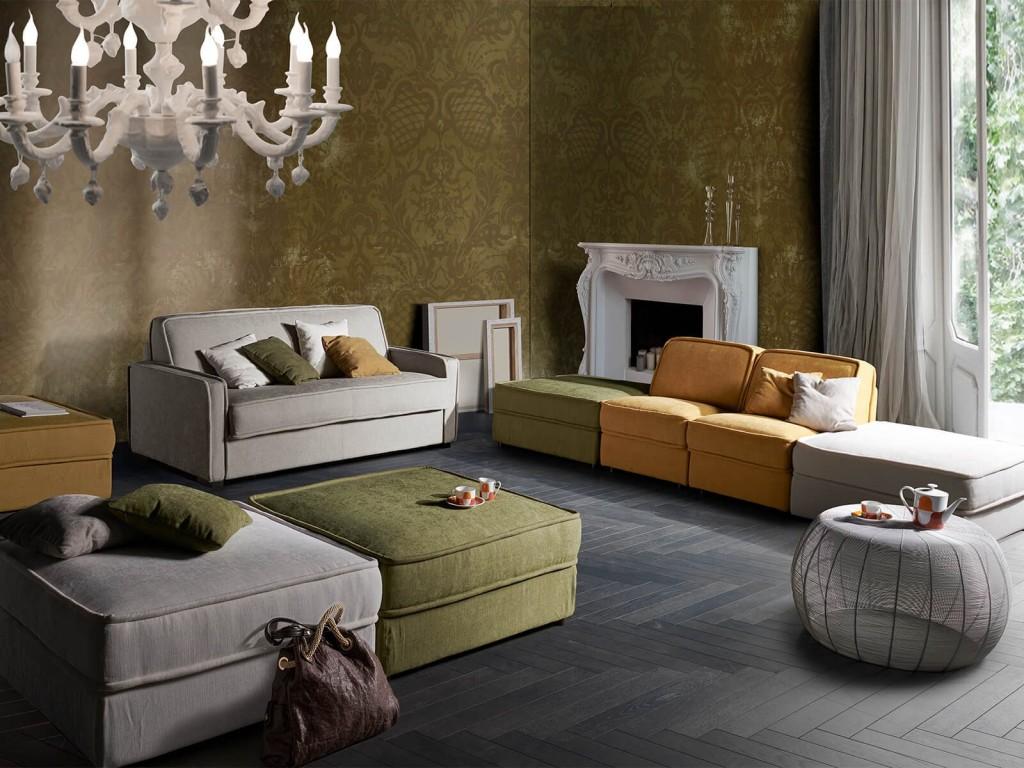 Vendita divani-letto modello DIVANO LETTO IMOLA chiusa